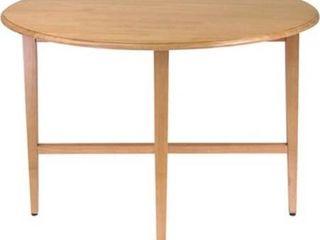 Modern lines Drop leaf Table 42 Inch Diameter