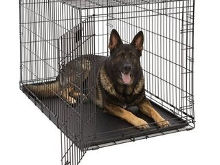 Midwest life Stages Single Door Folding Metal Dog Crate  48 Inches by 30 Inches by 33 Inches