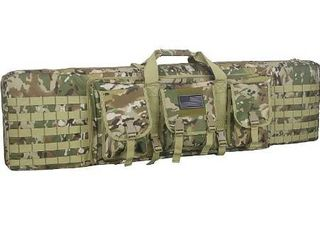 lovely People 48 Inch Double Rifle Bag Outdoor Tactical Carbine Cases Water dust Resistant long Gun Case Bag for Hunting Shooting Range Sports Storage and Transport