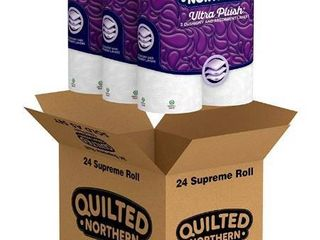 Quilted Northern Ultra Plush Supreme Toilet Paper 8 Count Pack Of 3