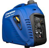 Westinghouse iGen2200 Super Quiet Portable Inverter Generator   1800 Rated Watts and 2200 Peak Watts
