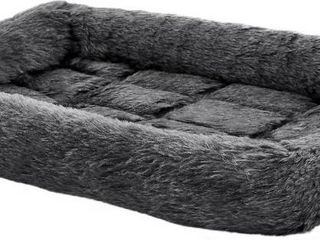 Quiet Time Dog Bed  Gray