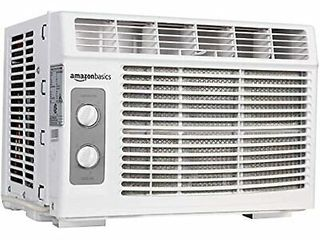 AmazonBasics Window Mounted Air Conditioner with Mechanical Control  Appears Used