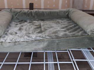 Medium Dog Bed  Green