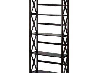 Montego 63  5 Tier Bookcase