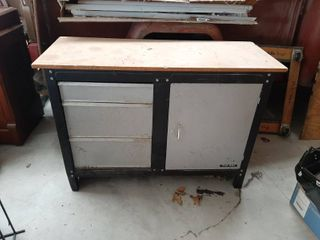 Workbench with Storage