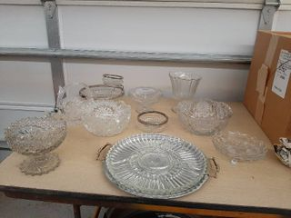 Assorted Crystal Bowls