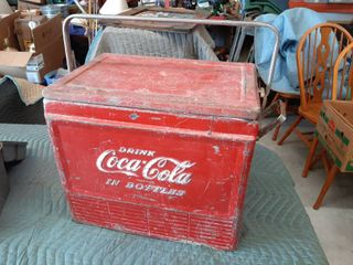 Metal Coca cola Cooler