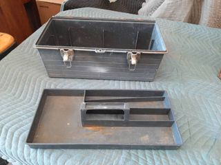 Plastic Toolbox with Tray