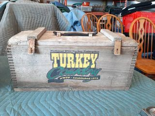 NWTF Wooden Crate