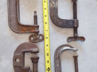 4 C Clamps