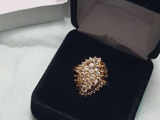 Women s ring in gift box