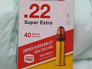 50 ct   22 super Extra bullets
