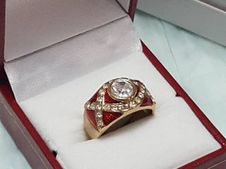 Ring in gift box
