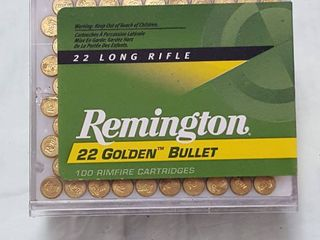 Remington 100 ct  22 Golden bullet  22 long rifle