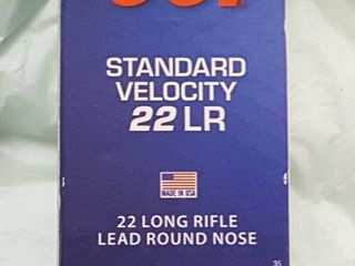 50 ct  CCi 22 lR bullets