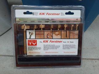 8 Piece KIK Forstner Drill Bit Set
