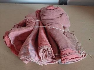 Bundle of 50 Washed Shop Rags