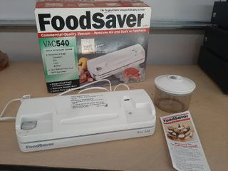 Foodsaver Vacuum Sealer Model Vac540 White