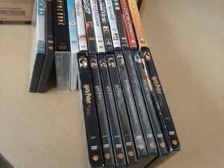 Approximately 50 DVDs   Harry Potter