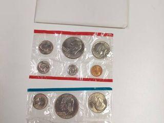 1977 US Mint Set   P D Mint Marks