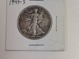 1943 S Walking liberty Silver Half Dollar