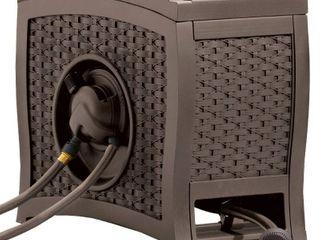 Suncast AquaWinder Auto Rewind Resin Free Standing Hose Reel