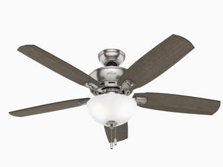 Hunter Creekside lED Indoor Ceiling Fan w  No light Kit