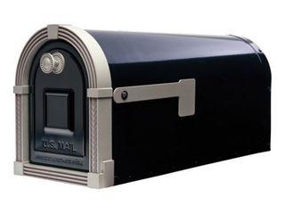 Gibraltar Mailboxes Brunswick large Galvanized Steel Post Mount Mailbox