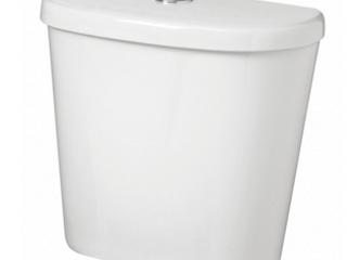 High Efficiency Toilet Tank  lid   amp  Wax Ring w  Hardware