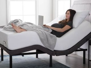 Adjustable Twin Xl Bed Base w  charging ports