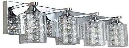 Quinn 4 light Chrome Vanity light
