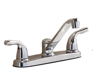 2 handle low Arc Kitchen Faucet
