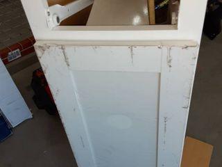 White Base Cabinet