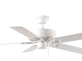 Harbor Breeze Classic White Finish 52in Ceiling Fan