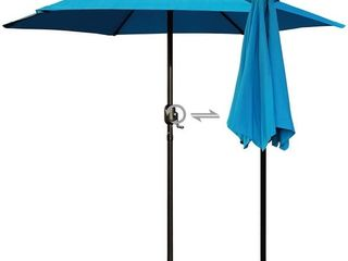 Outdoor Patio Umbrella Blue