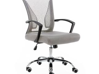 Modern Home Zuna Mid Back Office Chair Gray