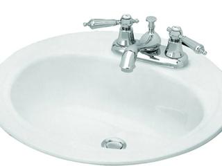Briggs Bath Porcelain Enameled Steel lavatory