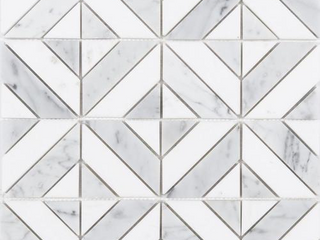 Satori by Anatolia Carrara Parquet Polished 1 Wall Tile 11 73 x 11 73
