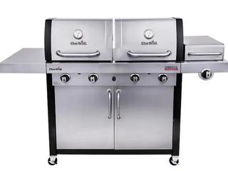 Char Broil 4 burner 2 hood propane grill