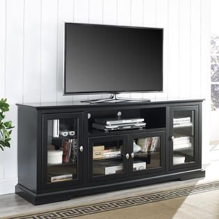 Manor Park Contemporary Tall TV Stand