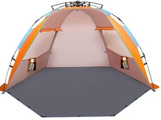 Oileus X large 4 Person Beach Tent Sun Shelter Retail  69 99