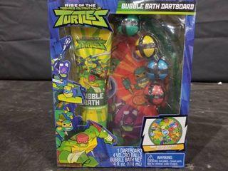 Rise Of The Teenage Mutant Ninja Turtles Bubblebath Dartboard