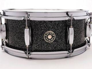 Gretsch Catalina Maple 5 5x14 Snare Black Stardust Drum CM1 5514S BS