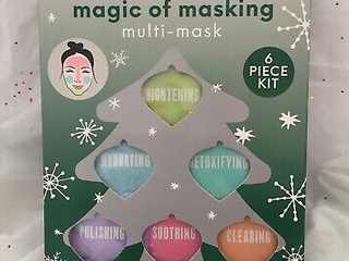 Magic Of Masking 6 Piece Kit By Freeman And Sealed Holiday Collection Fshp
