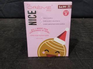 The Creme Shop Nice Set 3 Super Glow Essence Facial Masks locks Moisture