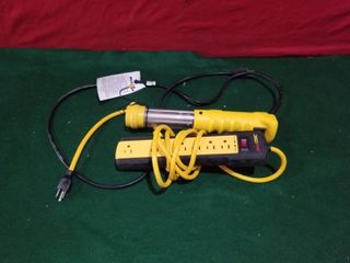 POWER STRIP AND lIGHT
