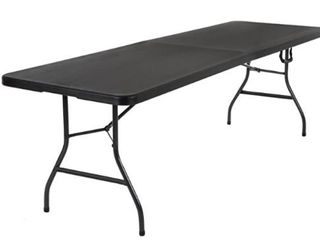 COSCO SIGNATURE 8FT FOlD IN HAlF RESIN TABlE