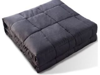 Glass Beads Filling Cotton 15lb Blanket By Kasentex Retail  94 99
