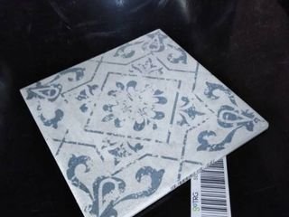 blue and grey tiles 22 pc